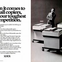 Xerox 3100, 3100LDC, 3107 ad