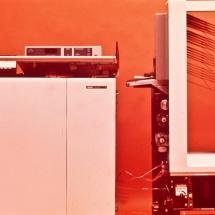 Xerox 4500 with sorter undocked