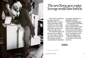 Xerox 4500 ad
