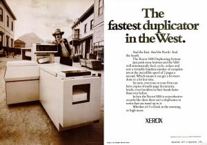 Xerox 9200 advertisment