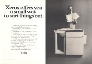 Xerox 3400 ad