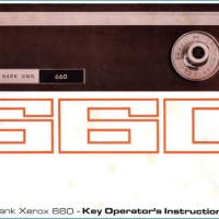 Front cover of the 660 Key Operator manual