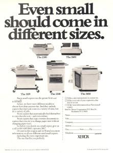 Xerox 3109 ad