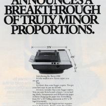 Xerox 2300 advertisment