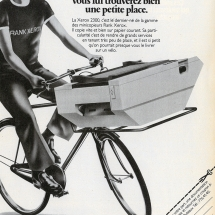 Xerox 2300 French advertisement from Rank Xerox
