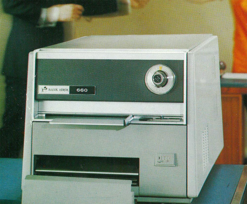 Xerox 660 – Xerox nostalgia