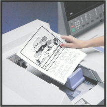 Xerox 1090 automated documenthandler