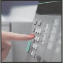 Xerox 1090 control panel