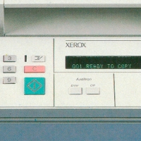 Xerox 1050 operating panel