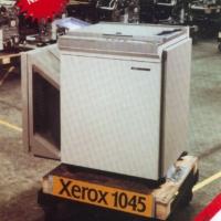 Xerox 1045 production line in 1980