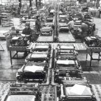 Rank Xerox Venray 3100 production line 1973
