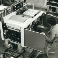 Rank Xerox Venray 7000 production line