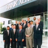 Visit from Webster in 1995 at Rank Xerox Venray