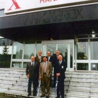 Bernard Fournier visit Rank Xerox Venray in 1995