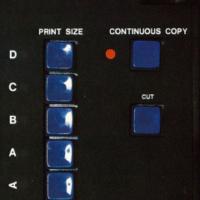 Xerox 2080 control panel